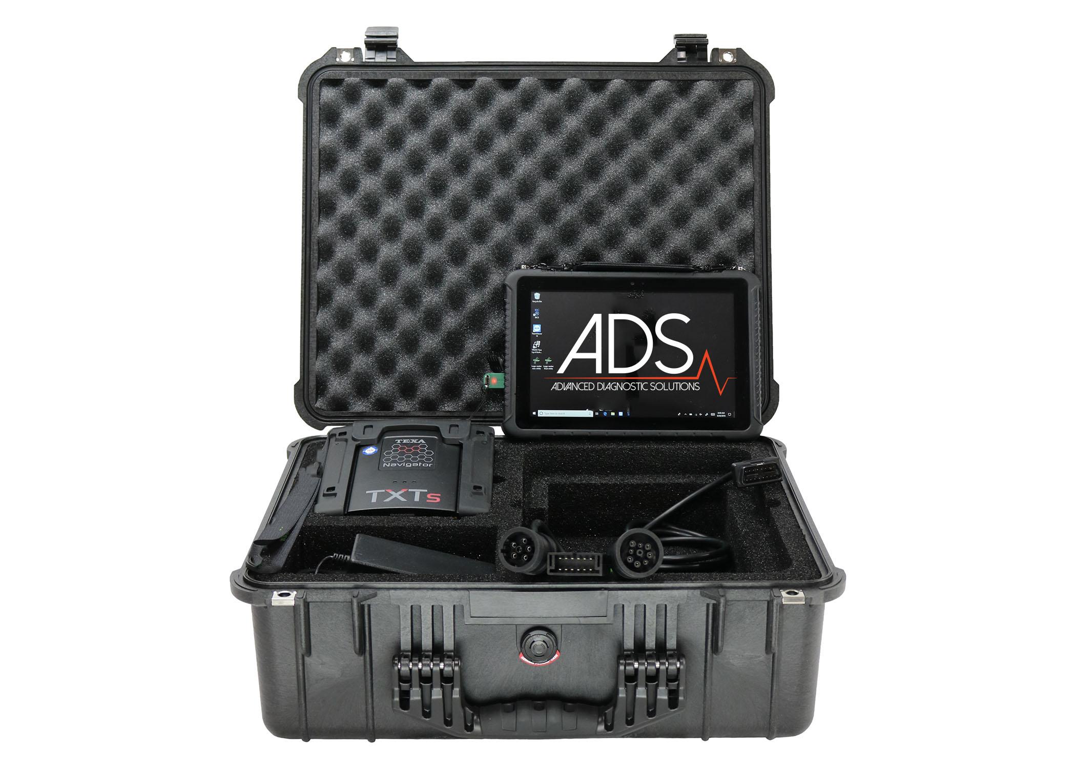 Texa Hd Truck  U0026 Off-highway Kit With 10 U0026quot  Rugged Tablet